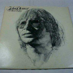 John Denver I Want To Live 1977 LP Vinyl Record